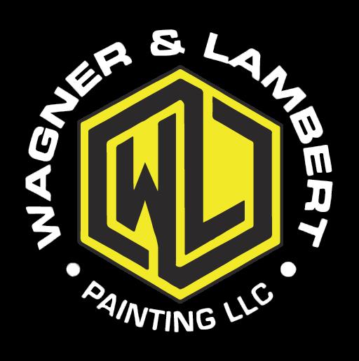 Wagner & Lambert painting LLC logo white